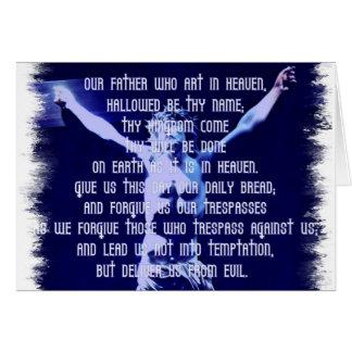 Lords Prayer Greeting Card
