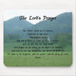 Lord's Prayer in the Mountains Mouse Pad