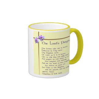 Lord's Prayer Mug