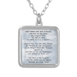 Lord's Prayer Necklace
