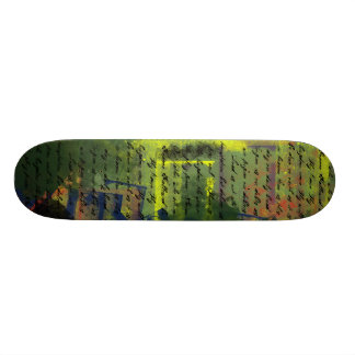 Lord's Prayer on Grundge Skateboard