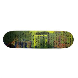 Lord's Prayer on Grundge Skateboard