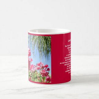 Lord's Prayer Our Father Oleander Mug
