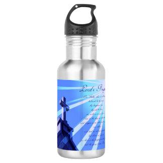 Lord's Prayer 18oz Water Bottle