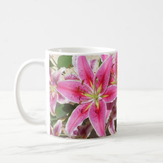 Lord's Prayer Tiger Lily Mug