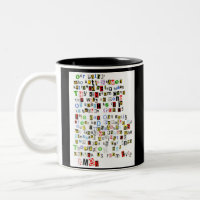 Lord's Prayer Two-Tone Coffee Mug