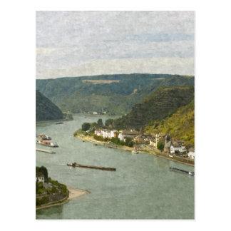 Lorelei Postcard