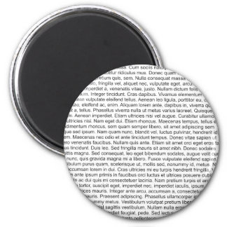 lorem ipsum blind text dummy text fridge magnets