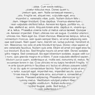 lorem ipsum blind text dummy text round sticker