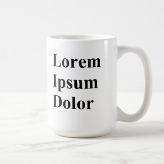 Lorem Ipsum Dolor Mug