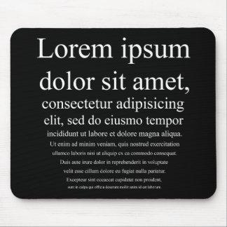 Lorem Ipsum Mouse Pad