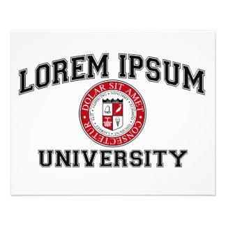 Lorem Ipsum University College Alumni Dummy Latin Flyer