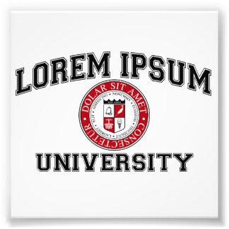 Lorem Ipsum University College Alumni Dummy Latin Photo Art