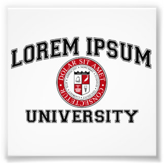 Lorem Ipsum University College Alumni Dummy Latin Art Photo