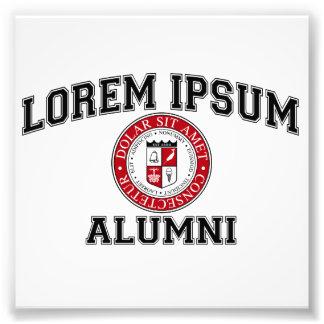 Lorem Ipsum University College Alumni Dummy Latin Photograph