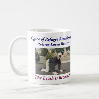 Loren Bussert Retirement Coffee Mug