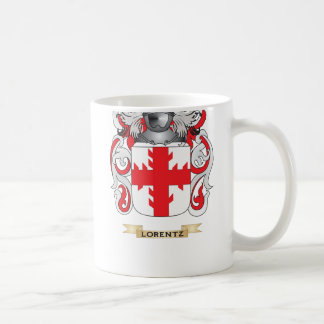 Lorentz Coat of Arms (Family Crest) Classic White Coffee Mug