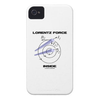 Lorentz Force Inside Electromagnetism Humor iPhone 4 Cover