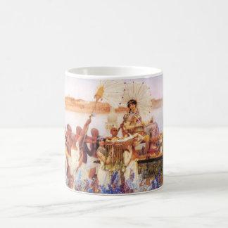 Lorenzo Alma Tadema el encontrar de la taza de Mos