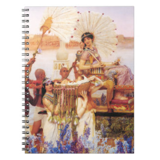 Lorenzo Alma Tadema el encontrar de Moses Libretas Espirales