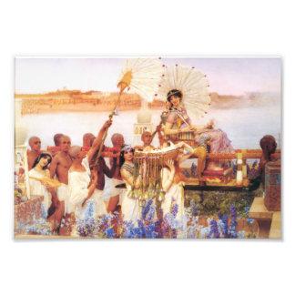 Lorenzo Alma Tadema el encontrar de Moses Fotografias