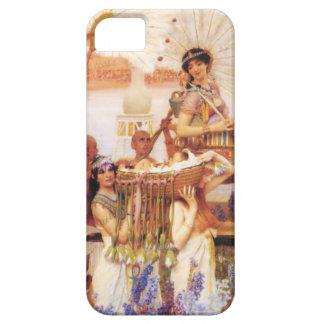 Lorenzo Alma Tadema el encontrar de Moses iPhone 5 Cárcasa
