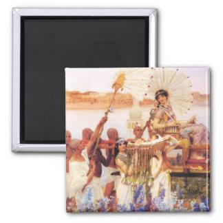 Lorenzo Alma Tadema el encontrar de Moses Iman De Frigorífico