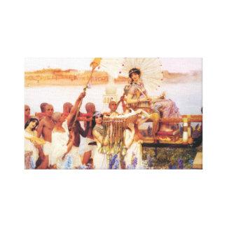 Lorenzo Alma Tadema el encontrar de Moses Impresiones En Lona