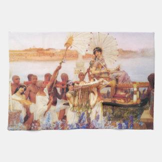 Lorenzo Alma Tadema el encontrar de Moses Toallas De Cocina