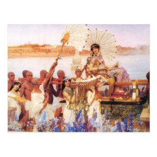 Lorenzo Alma Tadema el encontrar de Moses Postales