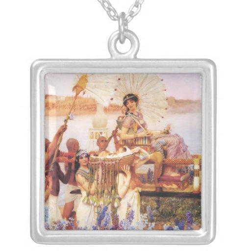 Lorenzo Alma Tadema el encontrar del collar de Mos