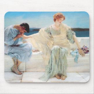 Lorenzo Alma Tadema me pregunta no más Alfombrillas De Ratones