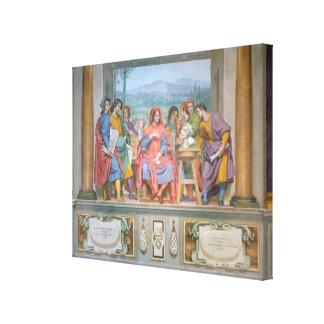 Lorenzo amongst the artists canvas prints