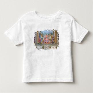 Lorenzo amongst the artists shirt