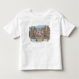 Lorenzo amongst the artists toddler t-shirt