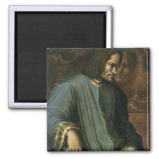 Lorenzo de Medici  'The Magnificent' 2 Inch Square Magnet