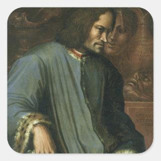 Lorenzo de Medici  'The Magnificent' Square Sticker