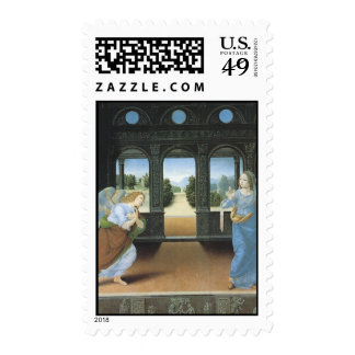 Lorenzo Di Credi The Annunciation 1480-85 Postage