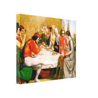 Lorenzo e Isabel de John Everett Millais Impresión De Lienzo