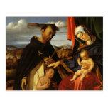 Lorenzo Loteria-Madonna y niño con el mártir de Sa Postales