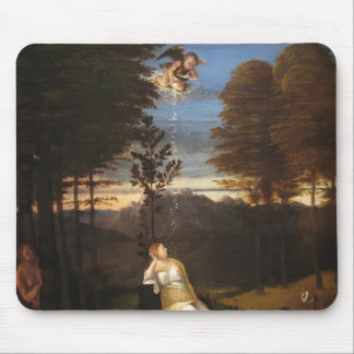 Lorenzo Lotto- Allegory of Chastity Mousepad