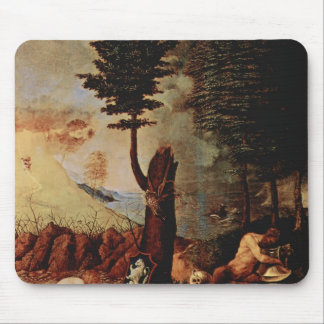 Lorenzo Lotto- Allegory of prudence and wisdom Mousepads
