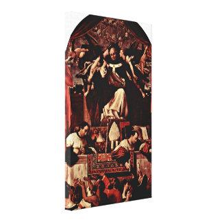 Lorenzo Lotto - Alms of Saint Antoninus Canvas Prints