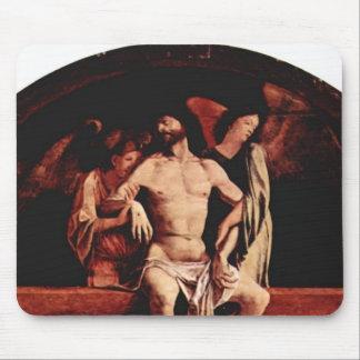 Lorenzo Lotto- Altar of Santa Cristina al Tiverone Mousepads
