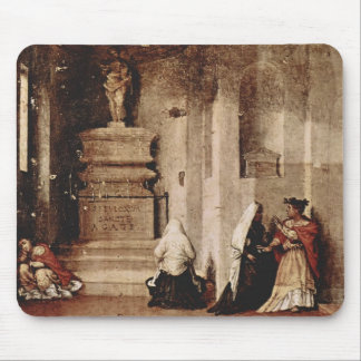 Lorenzo Lotto- Altar of St. Lucia and valediction Mouse Pad