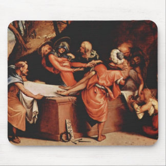Lorenzo Lotto- Altar polyptych of San Bartolomeo Mouse Pad