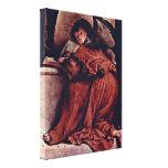 Lorenzo Lotto - Angel Stretched Canvas Print