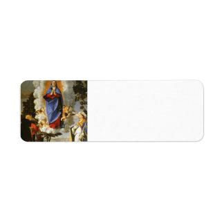 Lorenzo Lotto- Asolo Altarpiecel Labels