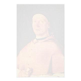 Lorenzo Lotto- Bishop Bernardo de' Rossi Stationery Paper