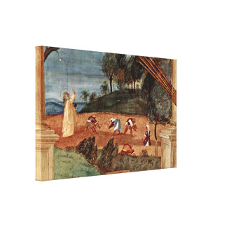 Lorenzo Lotto - Blessing of the St Clare Stretched Canvas Prints